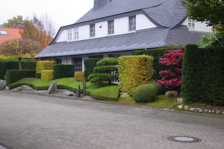 Jardines de estilo moderno por japan-garten-kultur