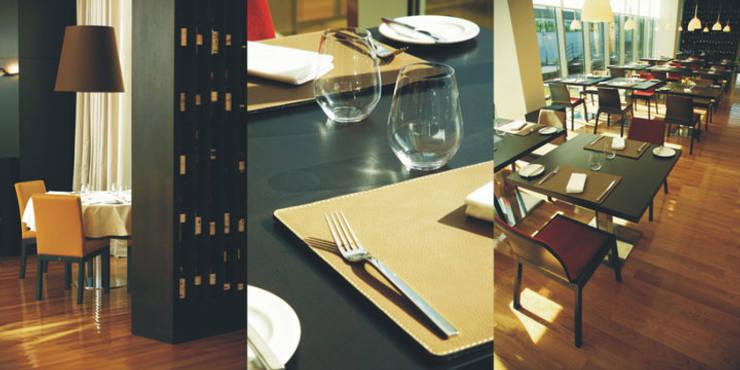 Sala de refeição: Espaços de restauração  por Traço Magenta - Design de Interiores