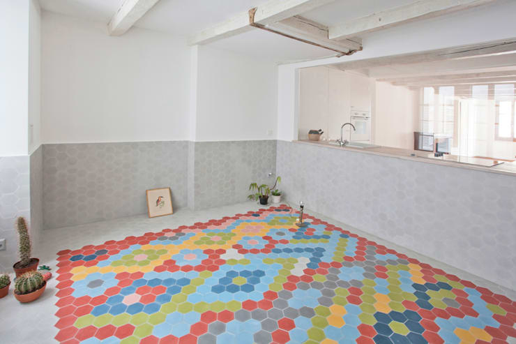 THE APPARTEMENT:  Bedroom by Bureau A
