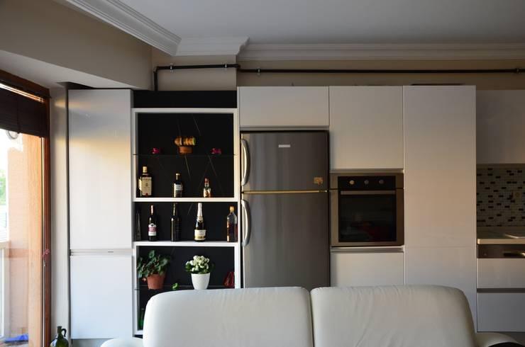 Arte FABBRO – BEYAZIN SAKİNLİĞİ:  tarz Mutfak