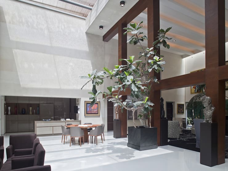 Casa H Comedores minimalistas de Cm2 Management Minimalista