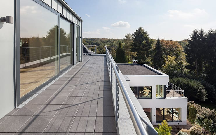 Terrace by Skandella Architektur Innenarchitektur