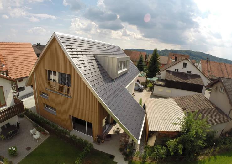 Projekty,  Domy zaprojektowane przez Bogen Design GmbH