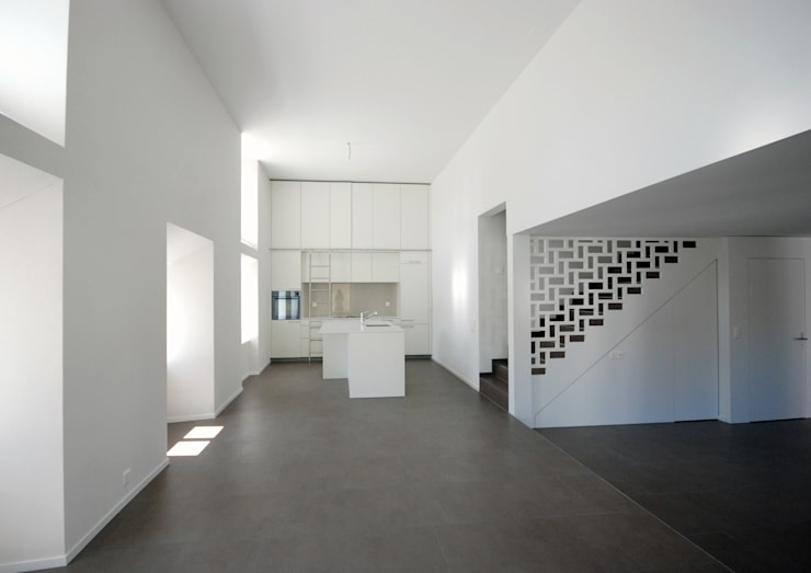 DEFH in Birmenstorf:  Wohnzimmer von Bogen Design GmbH