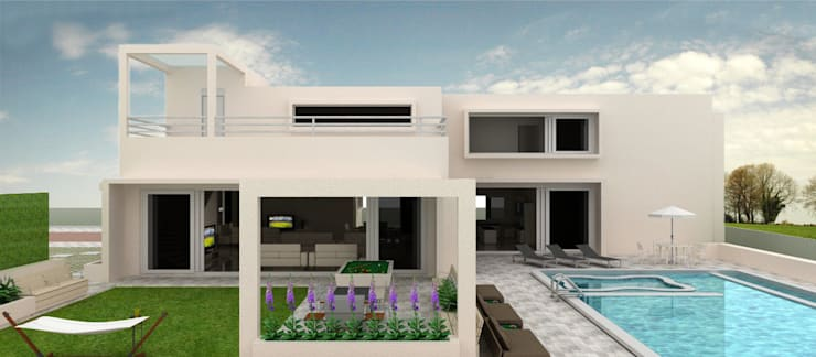 White retreat:  Houses by Neotecture