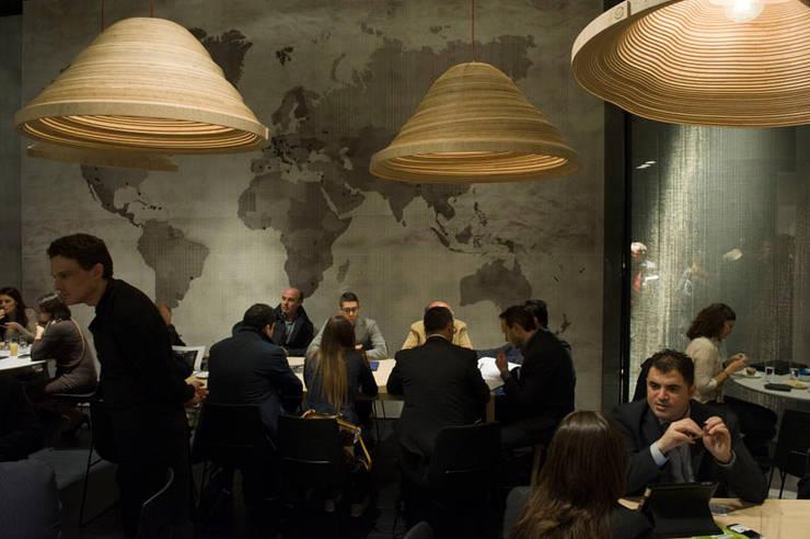 Twisted Light Poliform stand Salone Del Mobile 2012:  Hotels door Studio Erwin Zwiers