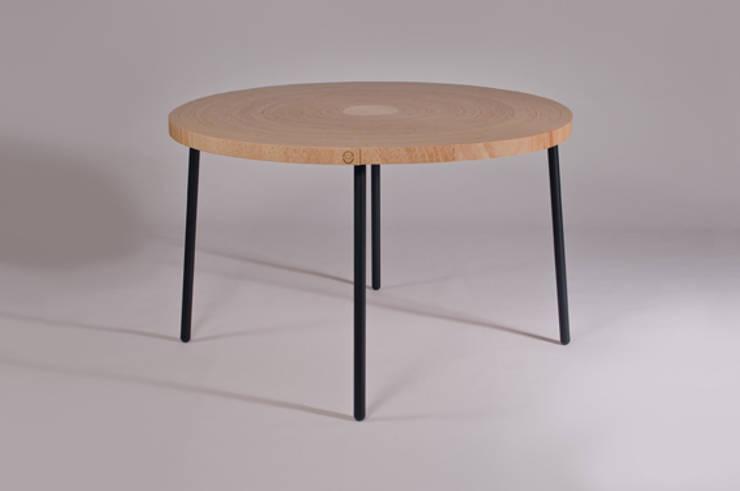 Twisted Table:  Eetkamer door Studio Erwin Zwiers