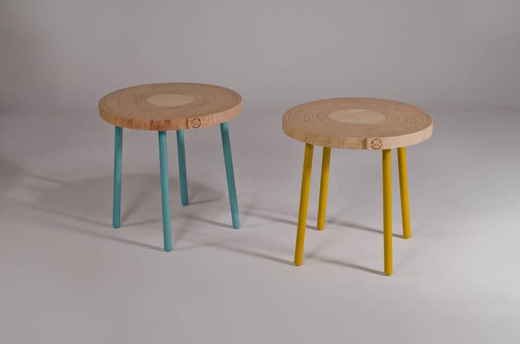 Twisted Tables:  Kantoorgebouwen door Studio Erwin Zwiers