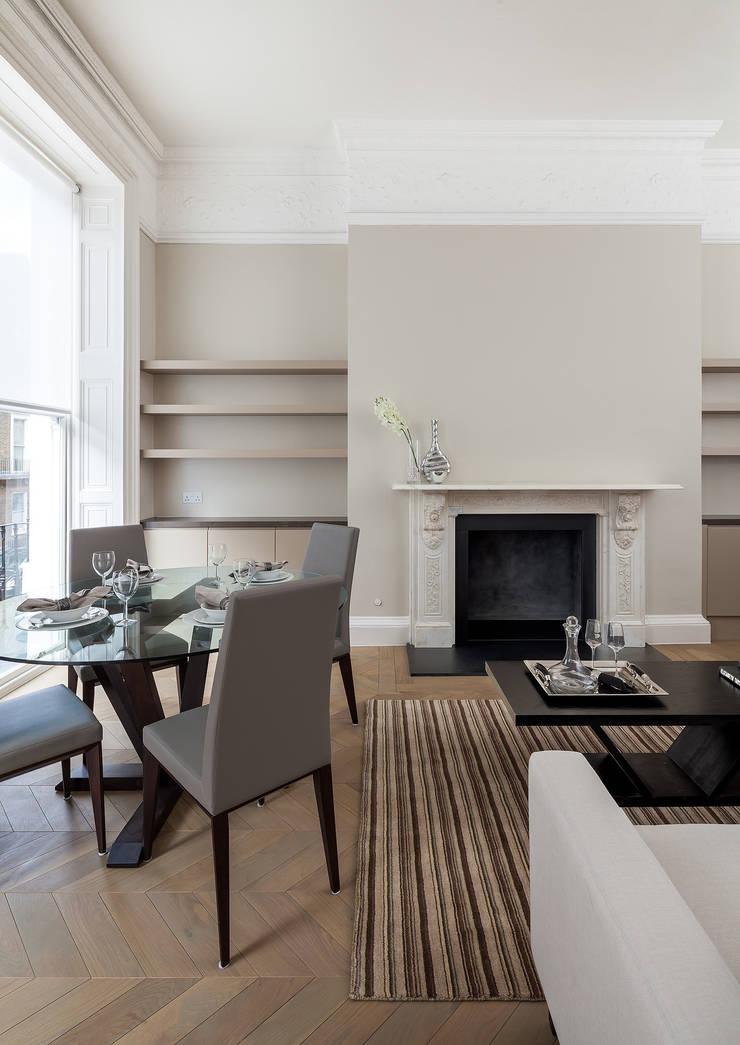 122 Harley Street:  Living room by Sonnemann Toon Architects