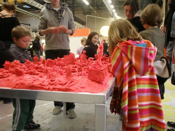 Claytable:  Scholen door Studio Erwin Zwiers