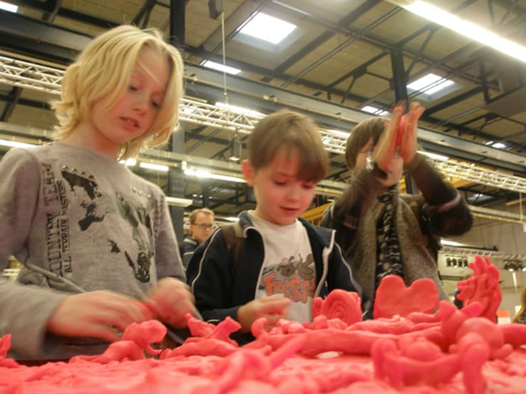 Claytable:  Kinderkamer door Studio Erwin Zwiers