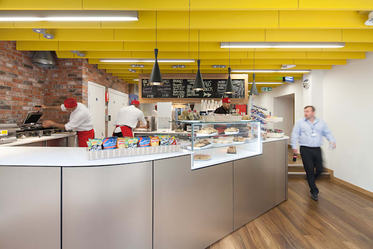 Project Pentrak:  Gastronomy by Sonnemann Toon Architects