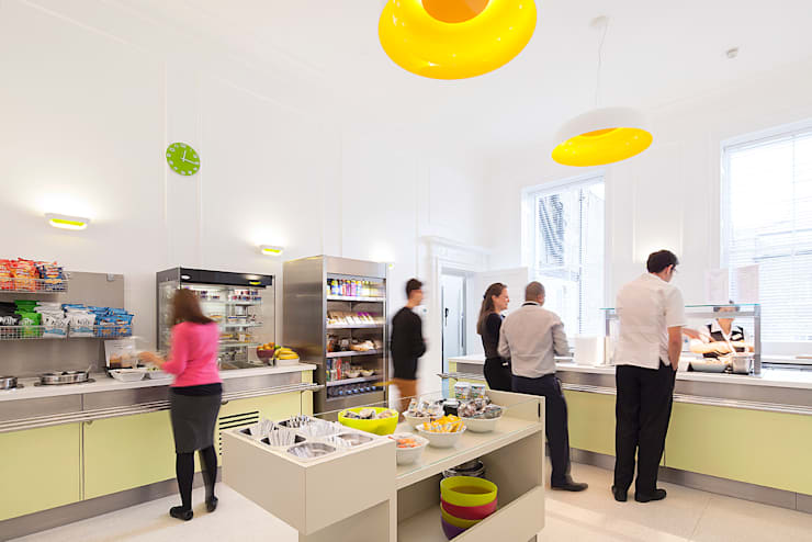 Staff Canteen:  Gastronomy by Sonnemann Toon Architects