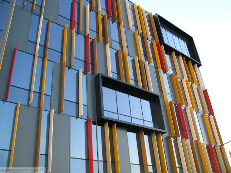 Herbestemming Postsite Aalst:  Kantoorgebouwen door Abscis Architecten bvba