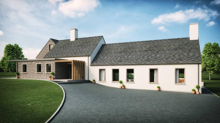 Tuftarney House Martinstown, Ballymena, County Antrim:  Houses by Slemish Design Studio Architects