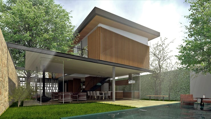 Nhà by ODVO Arquitetura e Urbanismo