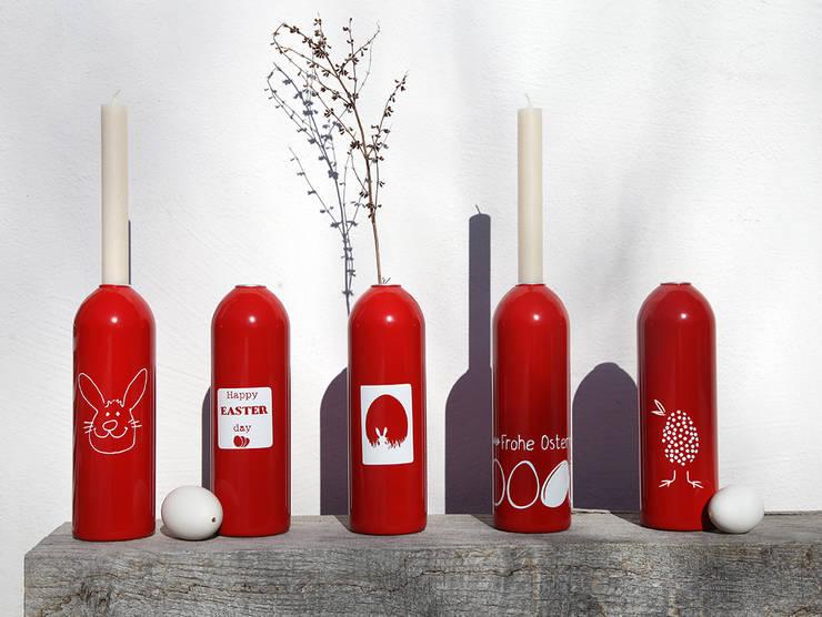 Kerzenhalter/Vase FIRE:  Esszimmer von werkvoll by Lena Peter