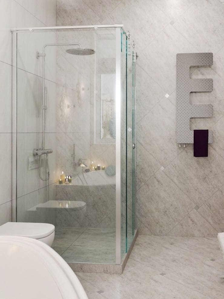 Modern Bathroom by pashchak design Modern