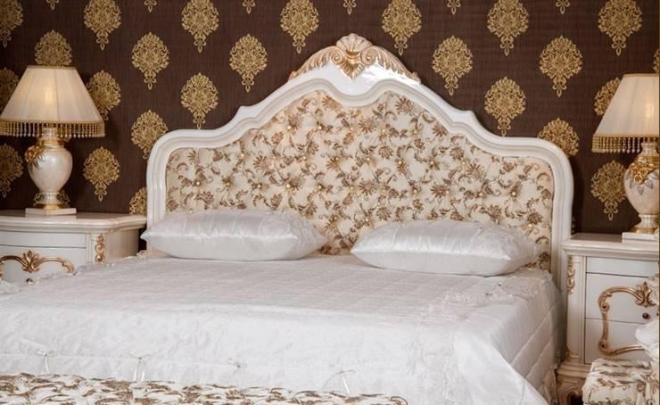 Asortie Mobilya Dekorasyon Aş.  – Sakura Klasik Yatak Odası Takımı:  tarz İç Dekorasyon