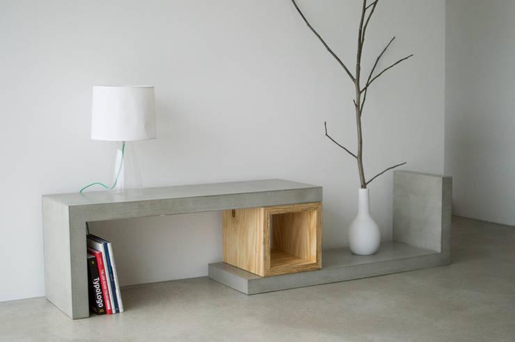 Salas/Recibidores de estilo  por formdimensionen