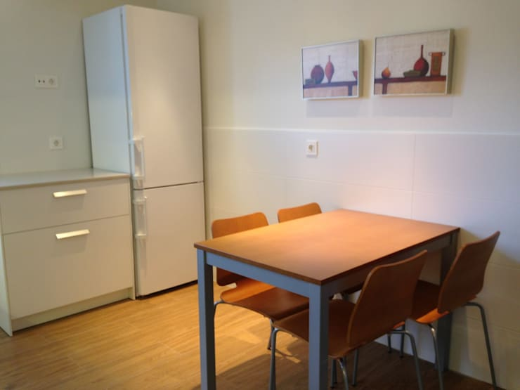 Cocina: Cocinas de estilo  de RODEK arquitectura interior