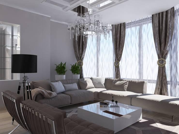 Дом в современном стиле: Гостиная в . Автор – Design Projects