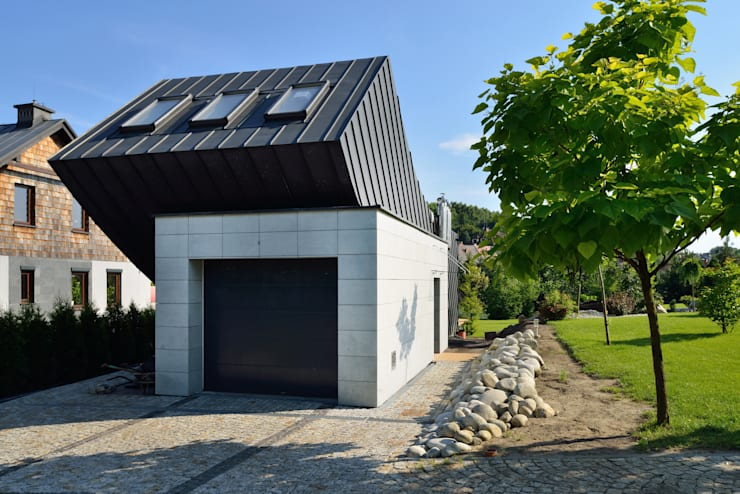 Domo Dom: styl , w kategorii Domy zaprojektowany przez ARCHITEKT.LEMANSKI