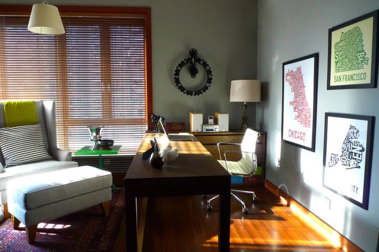 Arbeitszimmer: ausgefallene Arbeitszimmer von Hot Dog Decor Inneneinrichtung & Beratung
