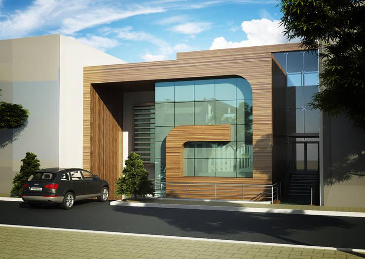 Casas de estilo moderno de BA DESIGN Moderno
