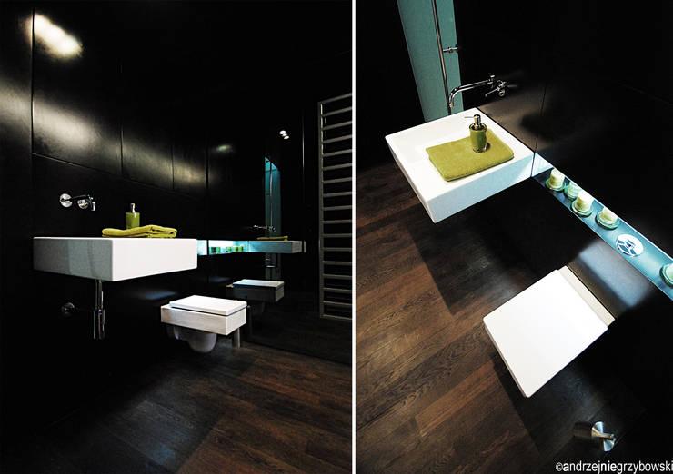 Aranżacja wnętrza mieszkania w Gdyni: styl , w kategorii Łazienka zaprojektowany przez RTP Consulting Sp. z o.o.
