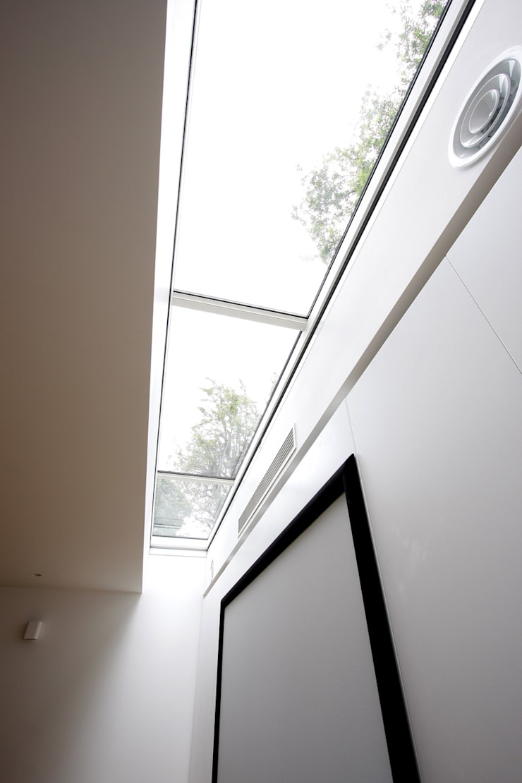 North London House Extension:  Media room by Caseyfierro Architects