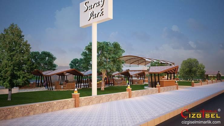 Restaurants de style  par Çizgisel Mimarlık