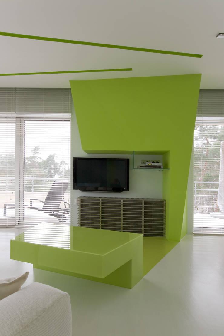 Квартира в Юрмале: Гостиная в . Автор – ARTRADAR ARCHITECTS