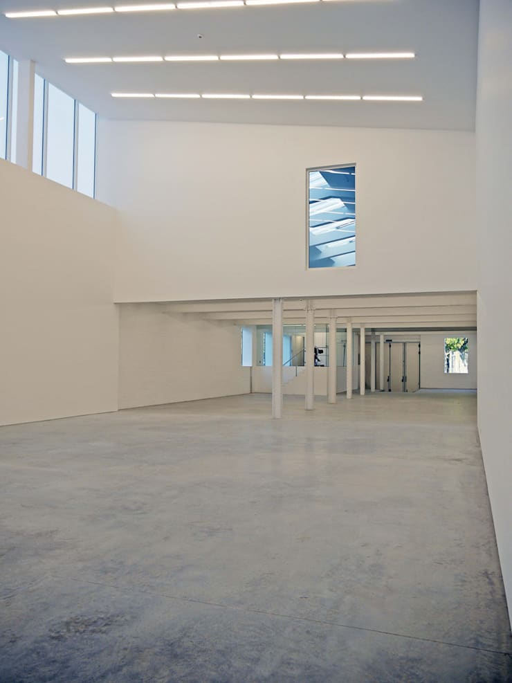 Anish Kapoor Studio:  Study/office by Caseyfierro Architects