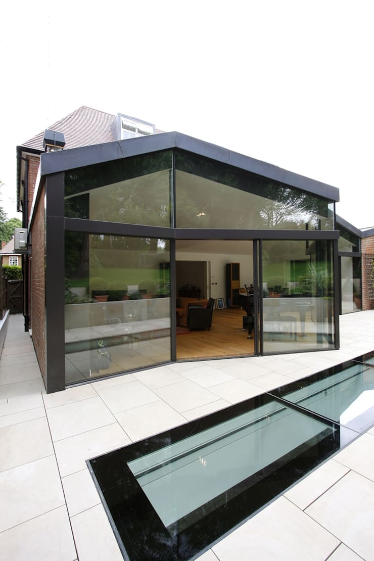 North London House Extension:  Houses by Caseyfierro Architects
