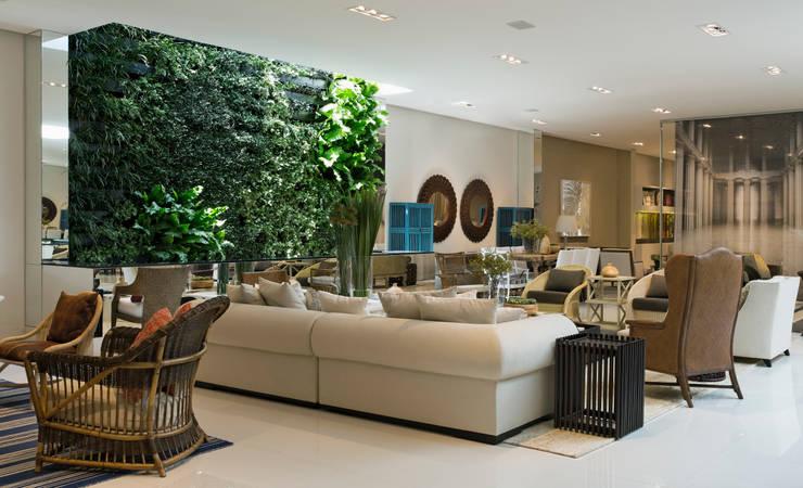 Artefacto Jardim Anália Franco 01: Lojas e imóveis comerciais  por GreenWall Ceramic,