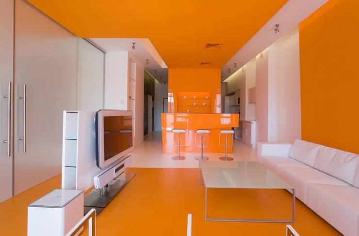 Квартира в Жуковке: Гостиная в . Автор – ARTRADAR ARCHITECTS