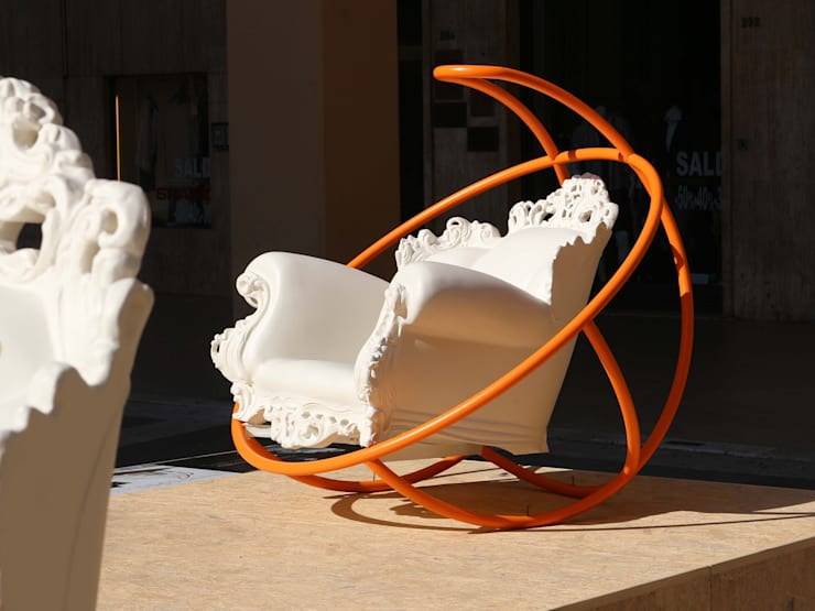 L CULLA DI PROUST: Giardino in stile in stile Moderno di SUPERplumSTUDIO