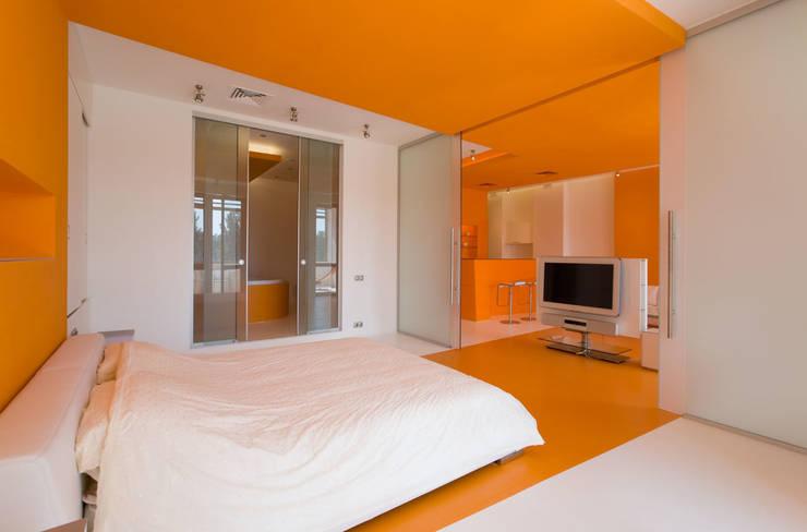 Квартира в Жуковке: Спальни в . Автор – ARTRADAR ARCHITECTS