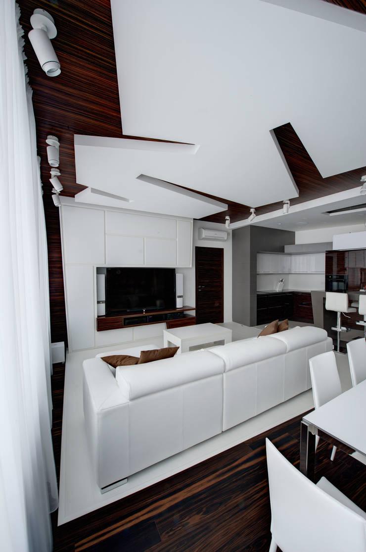 Квартира в Чертаново: Гостиная в . Автор – ARTRADAR ARCHITECTS