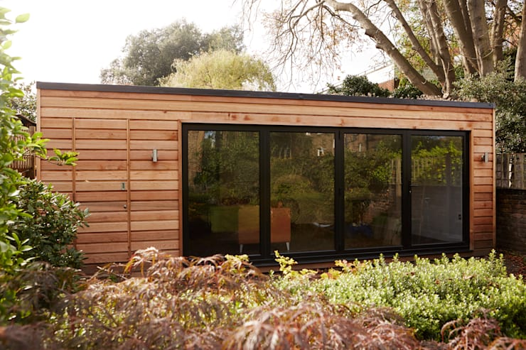 A Few Recent Projects:  Garden by London Garden Rooms