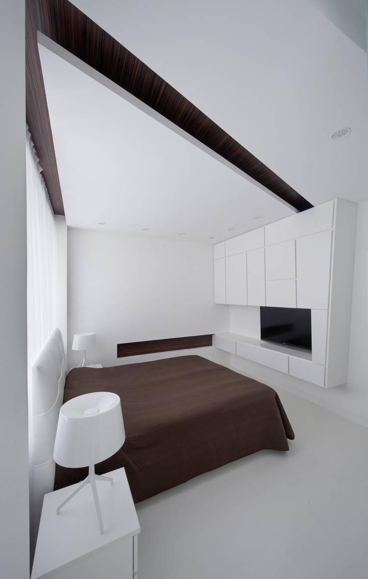 Квартира в Чертаново: Спальни в . Автор – ARTRADAR ARCHITECTS