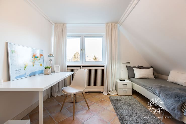 Quarto infantil  por Home Staging Sylt GmbH