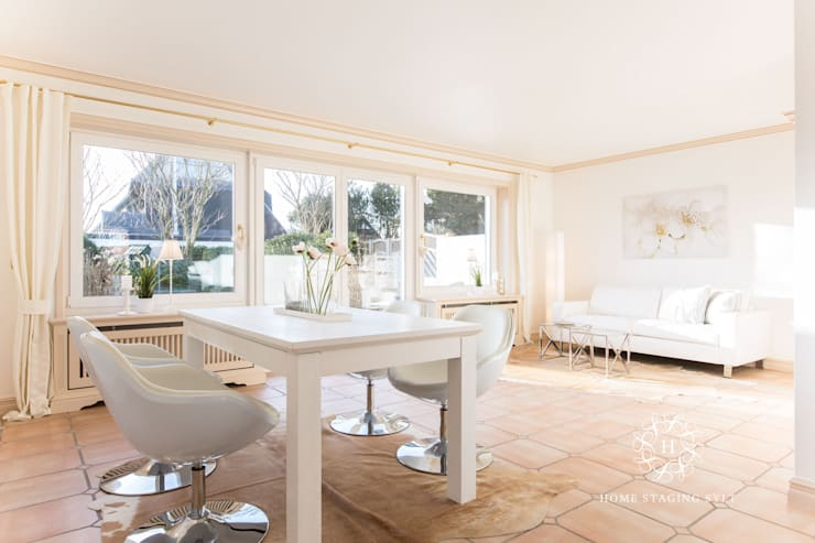 Eetkamer door Home Staging Sylt GmbH