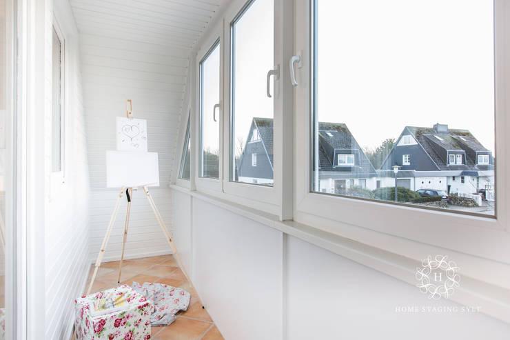 Home Staging Sylt GmbH의  베란다