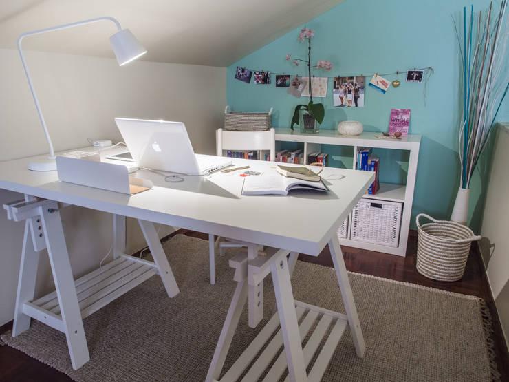 Habitaciones de estilo  por MUDA Home Design