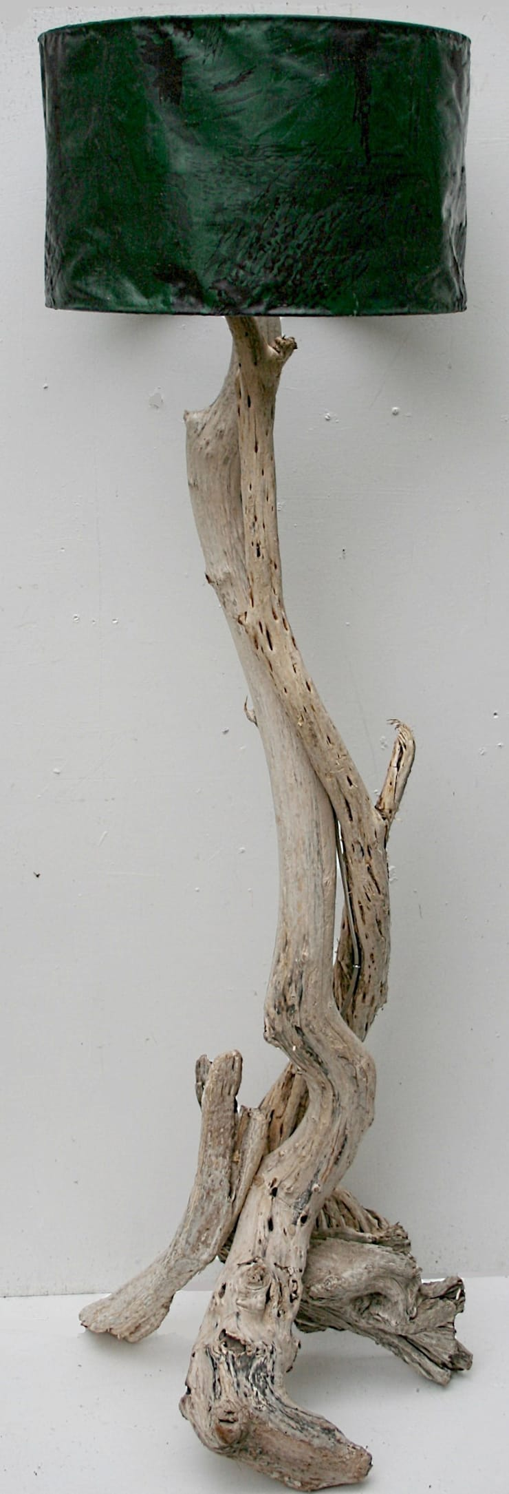 Driftwood floorlamp:  Living room by Julia's Driftwood