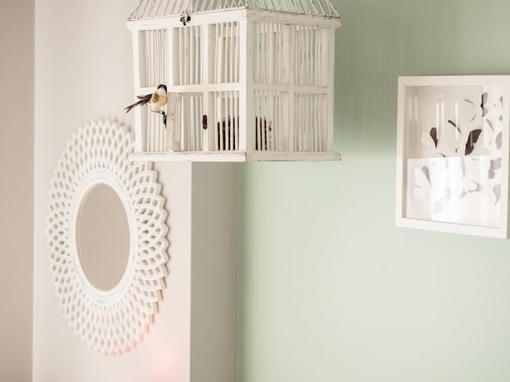 Quarto Natura: Quartos campestres por MUDA Home Design