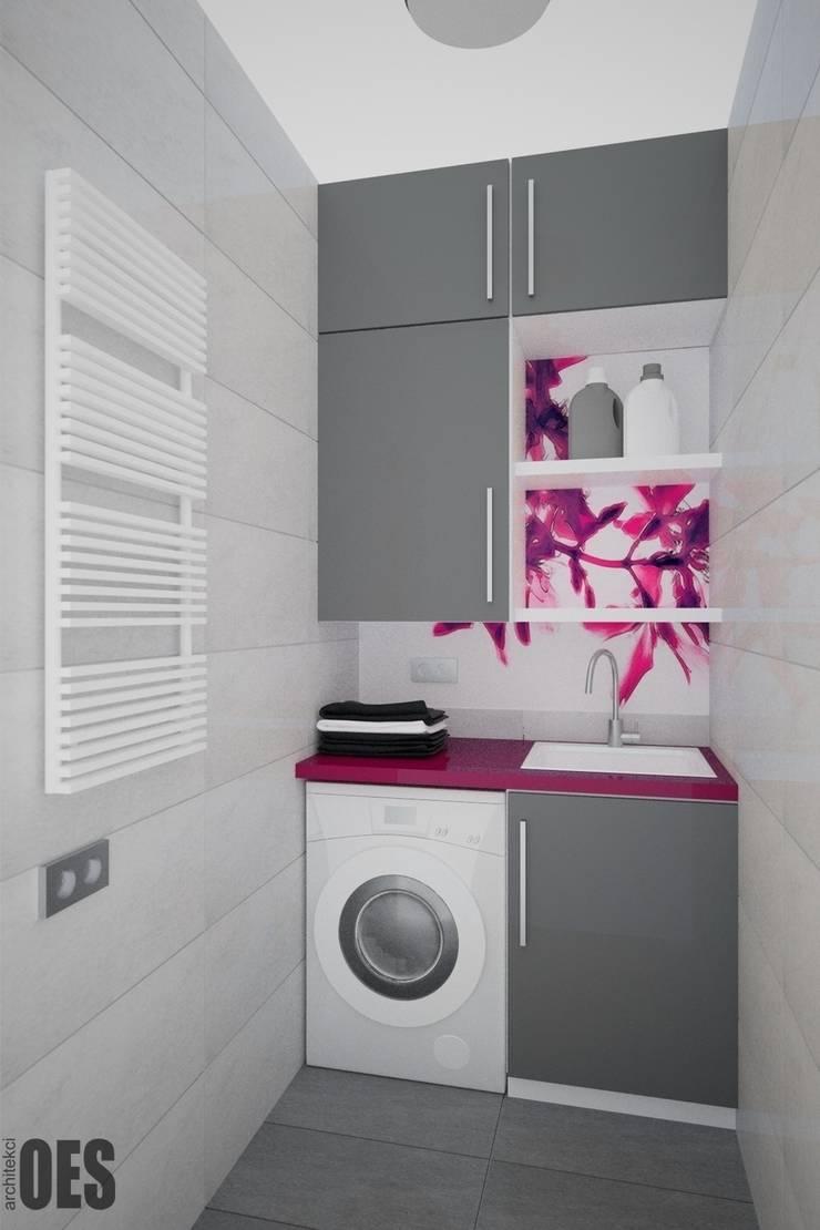 Projekt mieszkania Kraków: styl , w kategorii Łazienka zaprojektowany przez OES architekci,