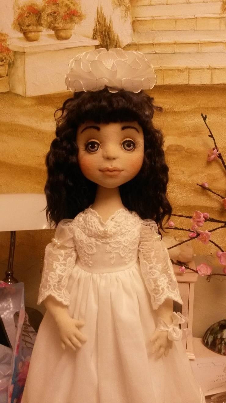 Оригинал и кукла: Детская комната в . Автор – Абрикос